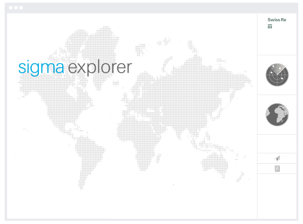 Swiss Re – Sigma Explorer